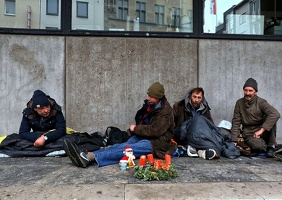 Advent und obdachlos